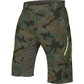 Endura Hummvee Lite II Short Homme, camouflage